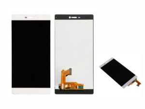 Mobile/Smart/Cell Phone Spare Parts LCD for Huawei P8 Display with Frame pictures & photos