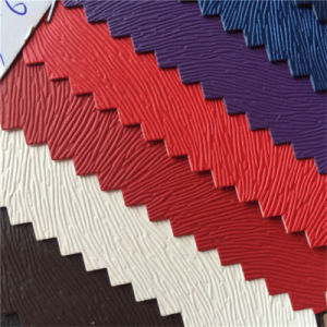 Special Design Pattern PU Leather for Shoes (HS-M389) pictures & photos