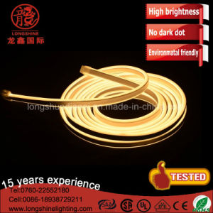 50m 100m 230 Volt Warm White LED Double Side-Emitting Neon Flex Letter IP68 pictures & photos