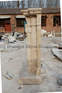 Antique Marble Fireplace Mfp-022 pictures & photos