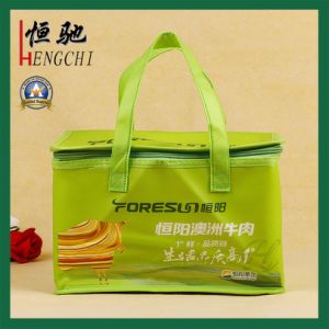 Non Woven Lamination Printed Reusable Ice Cooler Picnic Bag pictures & photos