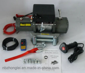 Waterproof 4X4 off-Road Electric Winch (6000LB) pictures & photos