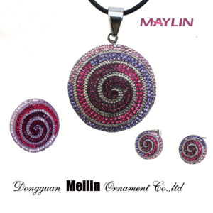 Wholesale Indian Plated Necklace Set Women Accessories Jewelry Wedding Suit pictures & photos