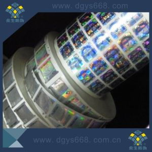 Self-Ahesive Security Laser Hologram Sticker in Rool pictures & photos