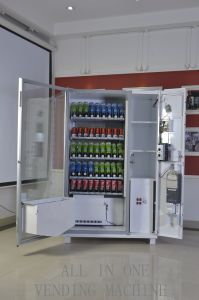 Big Capacity Vending Machine with Bill Validator Operated by Mdb pictures & photos