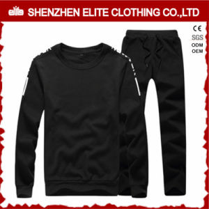 Wholesale Cheap Plain Black Tracksuit Set (ELTTI-51) pictures & photos