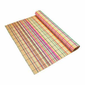 Natural Bamboo Strips Mat for Tabletop pictures & photos
