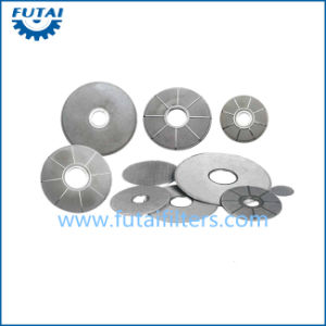 Spot Welding Wire Mesh Filter for Bcf, FDY pictures & photos
