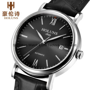 Automatic Stainless Steel Men′s Wrist Watch pictures & photos