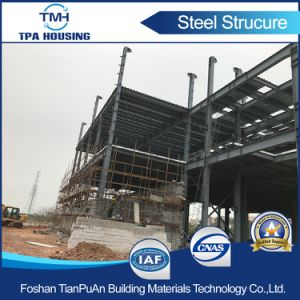 2 Floor Prefab Steel Sturcture Building for Workshop pictures & photos