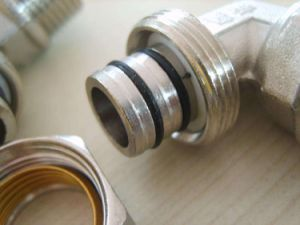 Nickel Plated Brass Compression Elbow (YD-6058) pictures & photos