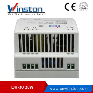 DIN Rail Single Output Switching Power Supply with Ce (DR-30W) pictures & photos