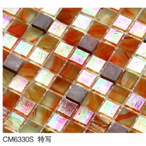 Mosaic Red Color Amber Natural Stone pictures & photos