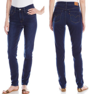Wholesale Ladies Big Size Jeans Sexy Fashion Jeans Trousers pictures & photos