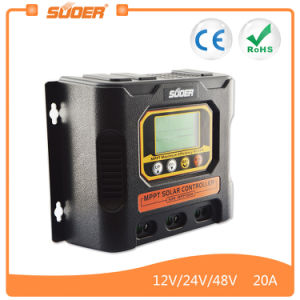 Suoer 12V 24V 20A MPPT Solar Charging Controller (SON-MPPT-20A) pictures & photos