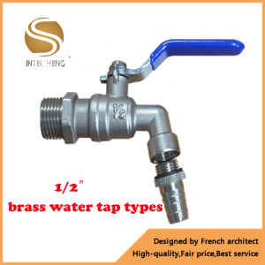 Brass Faucet Bibcock with Iron Handle pictures & photos