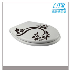 Printed Design Sanitary Thermoset Toilet Seat Cover pictures & photos