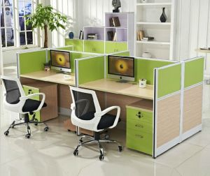 Project Office Furniture 4 Persons Workstation Office Partation Wall (HX-NCD339) pictures & photos