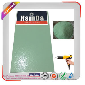 Manufacturer Factory Price Ral 6019 Pastel Green Color Wrinkle Epoxy Powder Coating pictures & photos