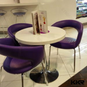 Kingkonree Solid Surface Dining Table Round Table pictures & photos