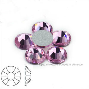 Lt Rose Pink Rhinestone Trimming Nail Stone Crystal Stone for Nail Art (FB-Lt rose /3A) pictures & photos