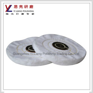 100mm Surface Scratches Felt Coarse Buff Wheel