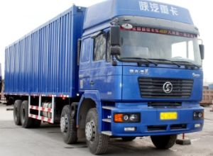 F2000 Shacman 8X4 Cargo Truck 310HP Wei Chai Engine Euro II pictures & photos