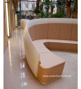 Stylish Design Corian Built Public Bench pictures & photos