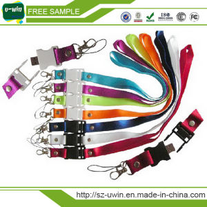 Lanyard USB Flash Disk / Key Chain Memory Drive Sling USB Memory pictures & photos