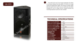 La215 Stage Monitor Speaker, Stage Monitor, PRO Loudspeaker pictures & photos