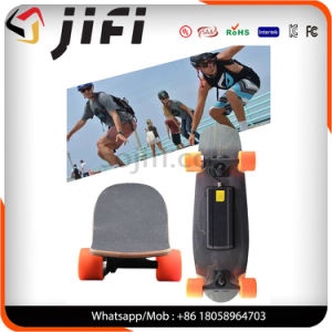 One/Dual Motor Four Wheels Maple Electric Skateboard with Remote Control pictures & photos