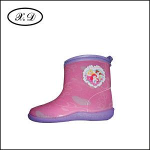 PVC Fashion Rain Shoes for Kids pictures & photos