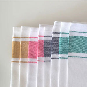 China Wholesale High Quality Cotton Stripe Hotel Restaurant