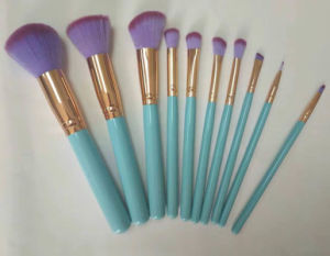 Hot Selling Cosmetic Brush Light Green Handle Brush Fairy Beauty Makeup Brush pictures & photos