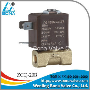 "Bona Brass 1/8"" 220VAC Solenoid Valve (ZCQ-20B) pictures & photos"