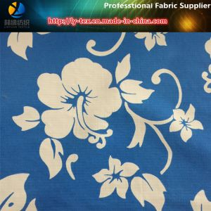 Nylon Taslon Check Water Printing Fabric for Board Shorts pictures & photos