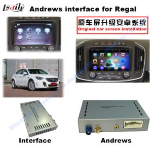 Car Video Interface for Buick Enclave Envision Encore Verano Regal Lacrosse, Android Navigation Rear and 360 Panorama Optional pictures & photos