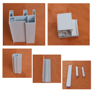 China 80mm Series Sliding UPVC Window Profiles