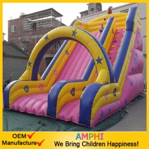Popular Giant Inflatable Star Slide pictures & photos