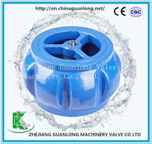 Wafer Silent One Way Non Salm Non Return Check Valve pictures & photos
