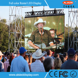 High Uniformity Outdoor P3.91 LED Large Screen TV pictures & photos