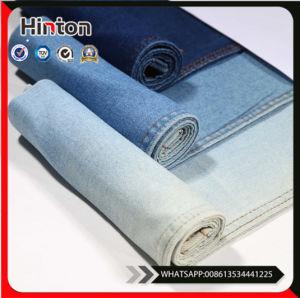 Woven Denim Fabric High Elastic Fabric Indigo Elastic Twill Fabric pictures & photos
