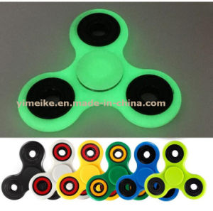 Hot Sale ABS Light Fluorescent 608 Bearing Finger Tri-Fidget Spinner pictures & photos