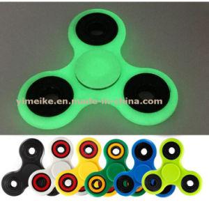 Hot Sale ABS Light Fluorescent 608 Bearing Finger Tri-Fidget Spinner pictures & photos