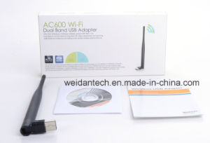 Dual Band 2.4G and 5g AC 600Mbps USB2.0 Adapter pictures & photos