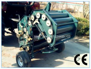 Large Cylindrical Pick-up Baler, CE Approved pictures & photos