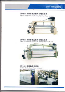 Jw851-190 Double Nozzle Dobby Opening Water-Jet-Loom
