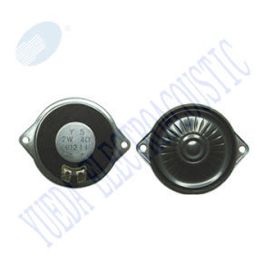 40 Mm Micro Mylar Speaker with Metal Mounting Holes (YD40-16)