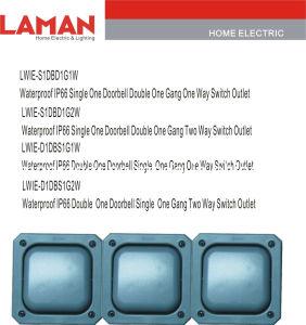 LWIE-T1DB IP66 Waterproof Doorbell Switch Outlet