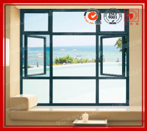 China Fixed and Side Hung Window Combination pictures & photos